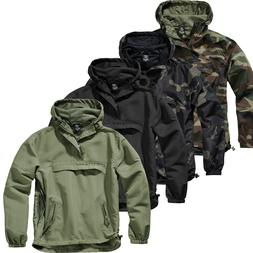 Brandit Summer Windbreaker Men's Jacket Rain Jacket Hood Arm
