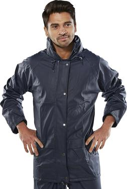 Super B-Dri BDRI SBDJ Waterproof Rain Jacket Navy Sizes S to