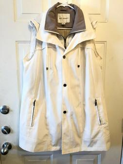 Coldwater Creek Sz LARGE Womens All-Season Rain Water-Repell