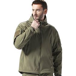 FREE SOLDIER Men's Tactical Jacket Waterproof Army Militar