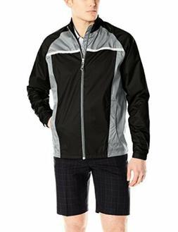TAYJB adidas Golf Mens Climastorm Essential Packable Rain Ja