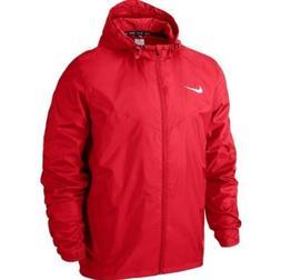 Nike Team Sideline Rain Jacket-red/white