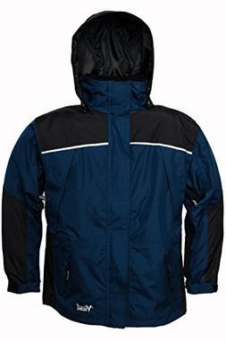 Viking Men's Tempest Classic Waterproof Rain Jacket, Navy Bl