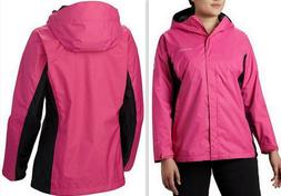 Columbia Tested Tough in Pink Hooded Rain Jacket II Women'