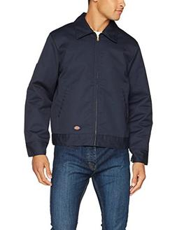 Dickies TJ15DNXL Navy Lined Eisenhower Jacket - Extra Large