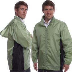 TOTES TMP500 MEN'S PACKABLE RAIN JACKET GREEN XL
