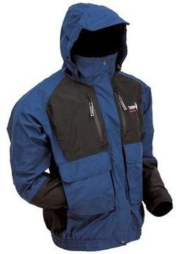 Frogg Toggs Toadz Firebelly Jacket, Dust Blue/Black, Size Me