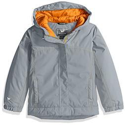White Sierra Toddler Boys Casper Insulated Jacket, Sleet Gre