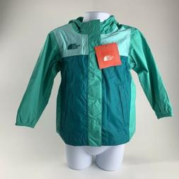 TODDLER GIRLS: The North Face Quinn Rain Shell Jacket, Green
