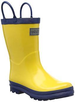 Toddler Hatley Waterproof Rain Boot, Size 13 M - Yellow