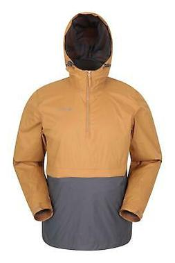 Mountain Warehouse Torrent Mens Pullover Rain Jacket - Water