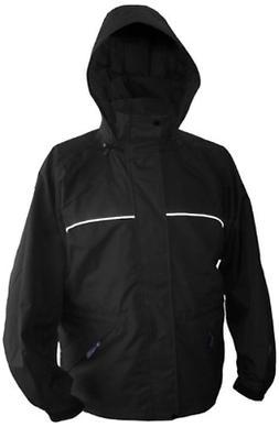 Viking Men's Torrent Waterproof Rain Jacket, Black, XXX-Larg