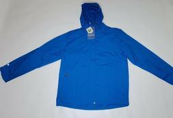 White Sierra Men's Trabagon Rain Shell Raincoat, Large, Impe