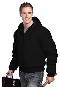 Tri-Mountain Heavyweight 12 oz. Hooded Canvas Jacket w/Polyf