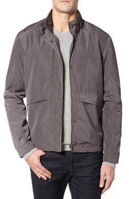Men's Cole Haan Trucker Jacket, Size Small - Grey
