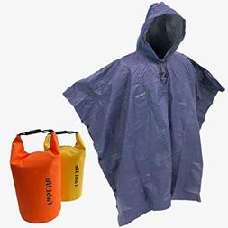 Frogg Toggs Ultra-Lite Packable Rain Poncho Foul Weather, Go
