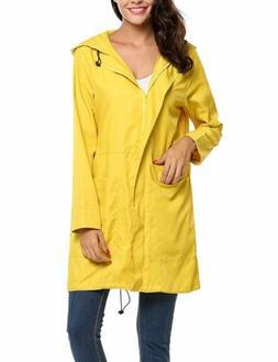BeautyUU Unibelle Women's Rainproof Raincoat Outdoor Hooded