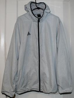 *Unreleased* White Adidas Sample Rain Jacket