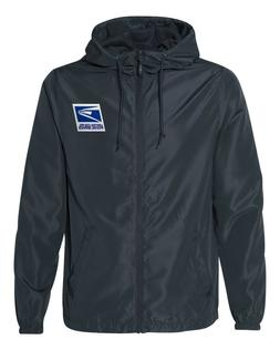 USPS Postal Service Windbreaker/Rain Jacket Navy Blue