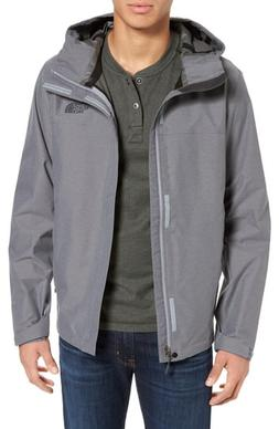 Men's The North Face Venture Ii Raincoat, Size Large - Grey