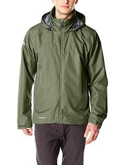 adidas Outdoor Men's 2 Layer Wandertag Solid Jacket Base Gre