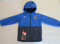 The North Face Boys' Warm Storm Rain Blue Jacket - LARGE - N