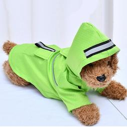 Waterproof Dog Clothes Fashion Pet Dog Raincoat Puppy Dog Ca