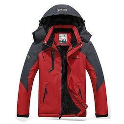 Waterproof Mens Snow Ski Jacket Winter Snowboard Windproof R