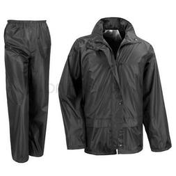 waterproof windproof rain suit jacket coat