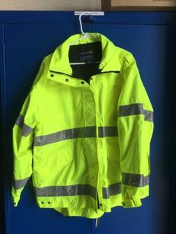 Weathertech Spiewak Vizguard Reflective Safety EMS/Fire Rain