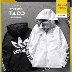 Adidas Windbreaker Men Women Slim Jacket Rain Proof Coat Win