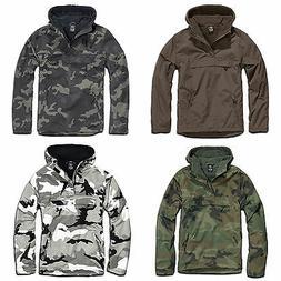 Brandit - Windbreaker With Hoodie Rain jacket Men's Plus siz