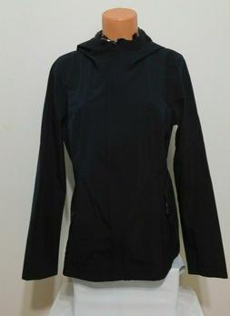 32 Degrees Woman's Rain Jacket Black Size XL Light Weight  N