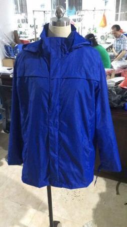 Women Rain Jacket Waterproof Hooded Raincoat Zipper Rainwear