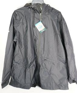 Columbia Women's Arcadia Omni-Tech Black Rain Jacket Sz 2X $