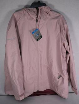 Columbia Women's Arcadia Omni-Tech Pink Rain Jacket Sz 2X $1