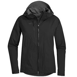 Outdoor Research Women's Aspire Jacket, Black, Small
