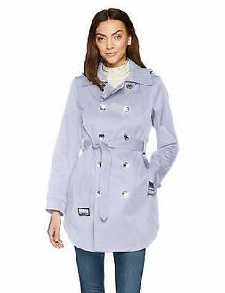 Calvin Klein Women's  Double Breasted Trench Rain Jacket