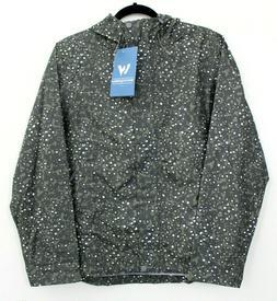 White Sierra Women's Jacket Size MediumTrabagon Printed Rain