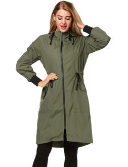 Zeagoo Women's Lightweight Hooded Waterproof Active Outdoor