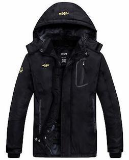 Wantdo Women's Mountain Waterproof Fleece Ski Jacket Windpro