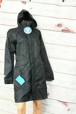 Columbia Women's Pardon My Trench Rain Jacket Omni-Tech US S