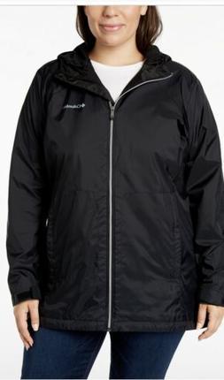 Columbia Women's Plus Size Switchback Lined Long Jacket, Bla
