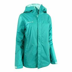 Columbia Women's Plus Timber Pointe Rain Hooded Waterproof J