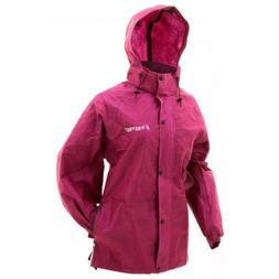Frogg Toggs Women's Pro Acton Rain Jacket Cherry #PA63523-15