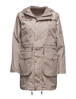 Ilse Jacobsen Women's Rain Jacket With Hood Water Repellent