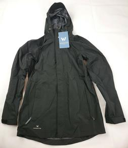 White Sierra Women's Sierra Guide 2.5 Layer Rain Jacket Blac