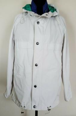 Coach Women's Size M 2 in 1 Trench Rain Coat + Removable Ves