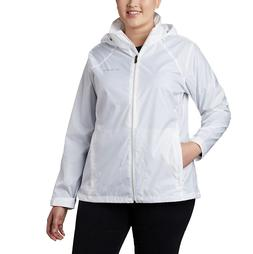 Columbia Women's Switchback III Hooded Jacket Plus Size 2X