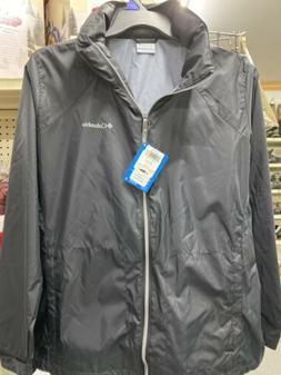Columbia Women's Switchback III Lined Black Rain Jacket Size